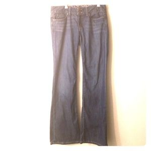 Gap mid rise boot cut jeans size 8R